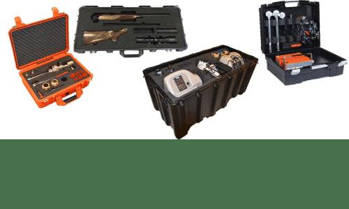 Spesialinnredning av kofferter