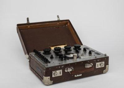 Radiokoffert (Foto: Håkon Bergseth, Norsk Teknisk Museum)